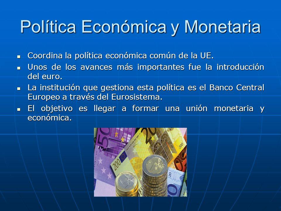 Política Económica y Monetaria
