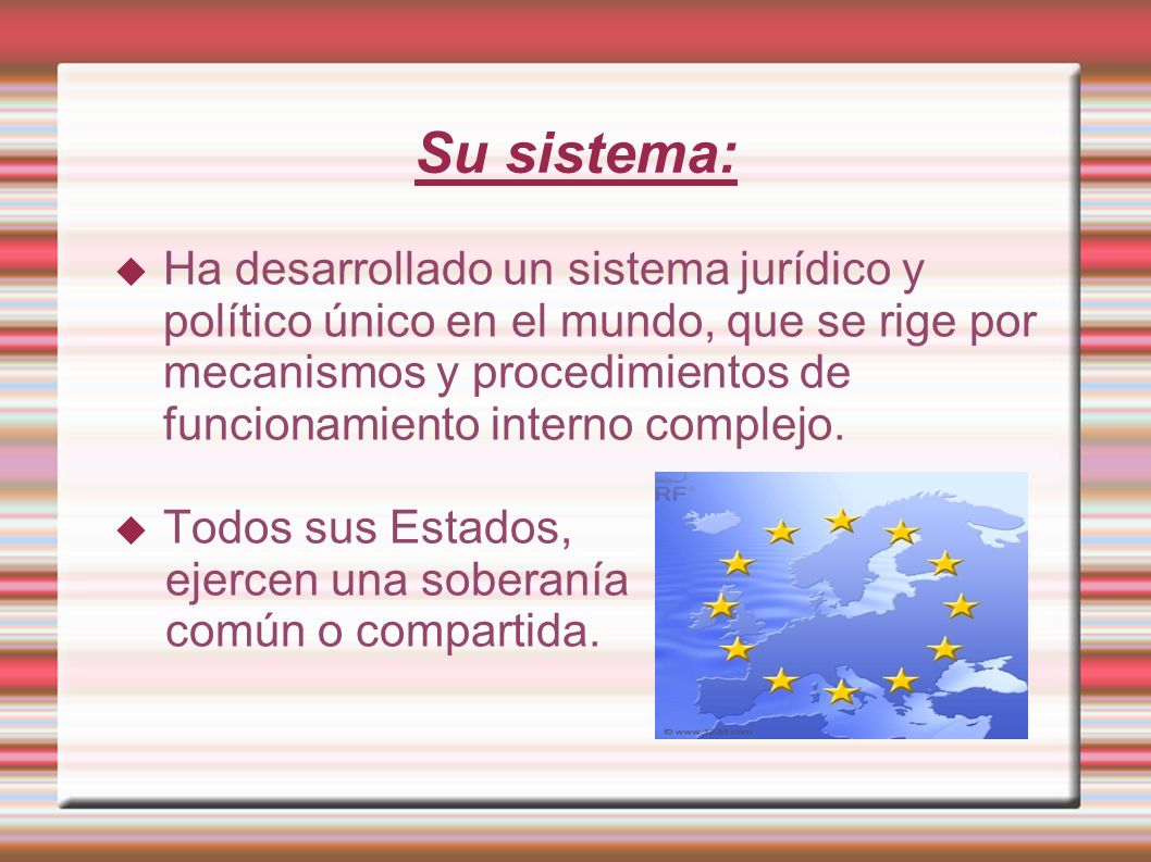 Su sistema: