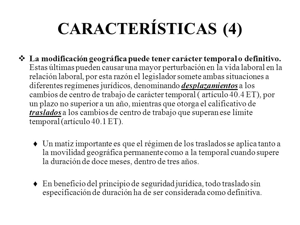 CARACTERÍSTICAS (4)