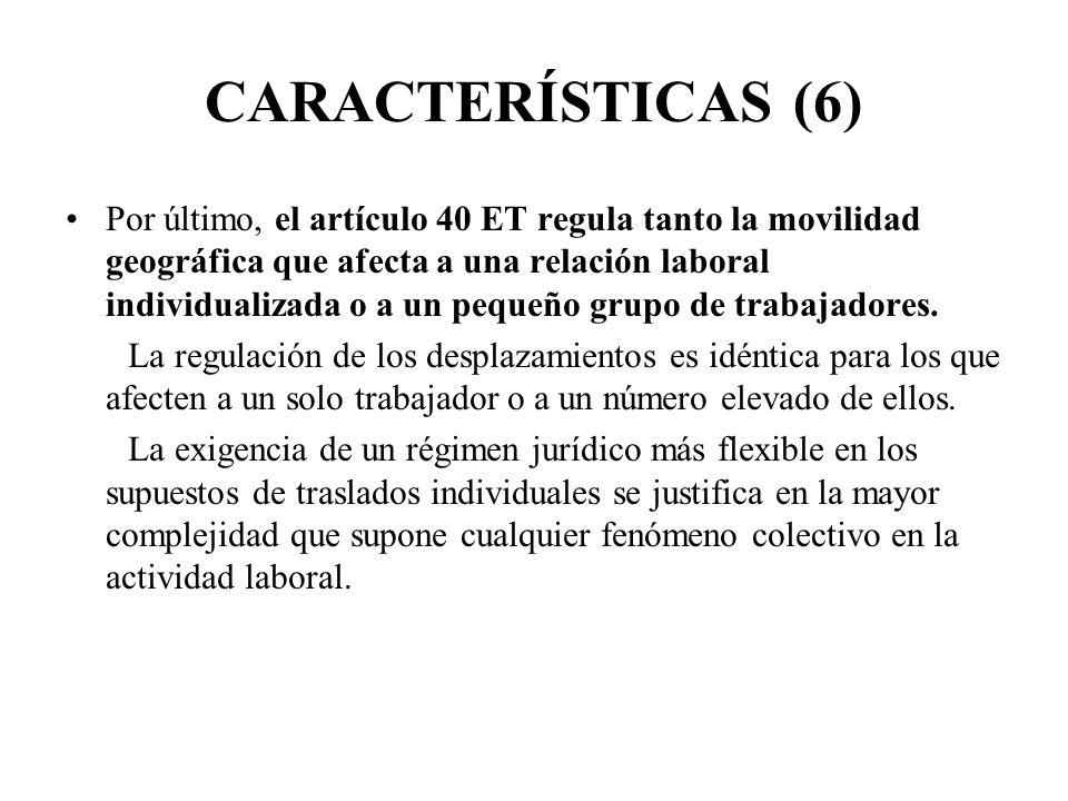 CARACTERÍSTICAS (6)