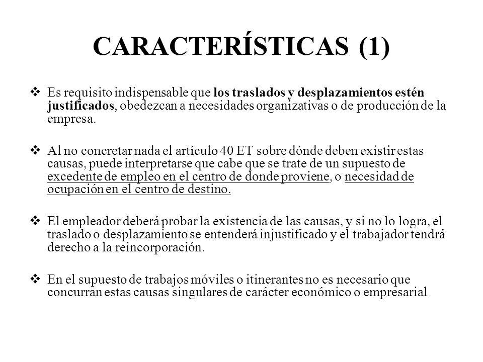 CARACTERÍSTICAS (1)