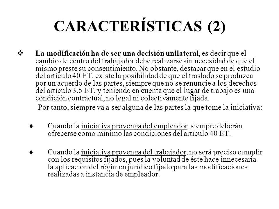 CARACTERÍSTICAS (2)