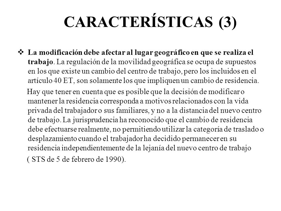 CARACTERÍSTICAS (3)
