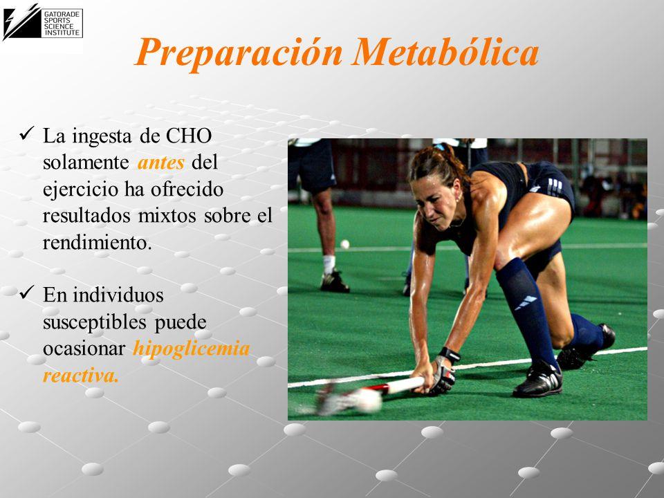 Preparación Metabólica