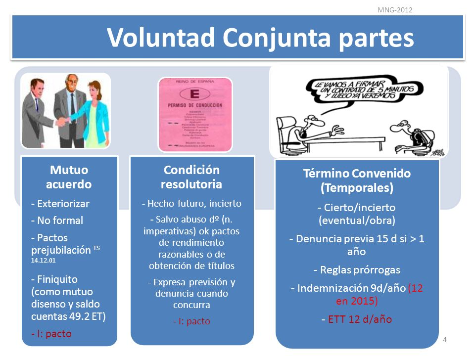 Voluntad Conjunta partes