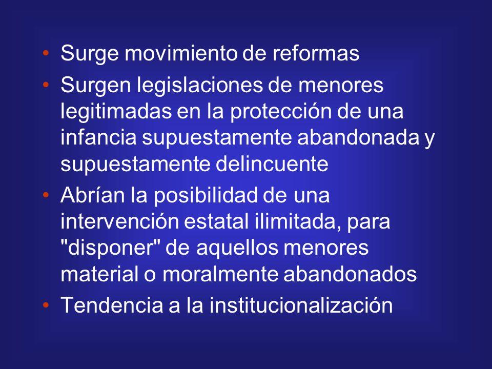 Surge movimiento de reformas