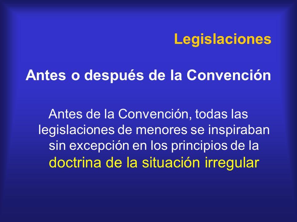 Antes o después de la Convención