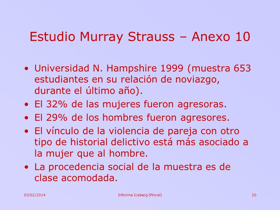 Estudio Murray Strauss – Anexo 10