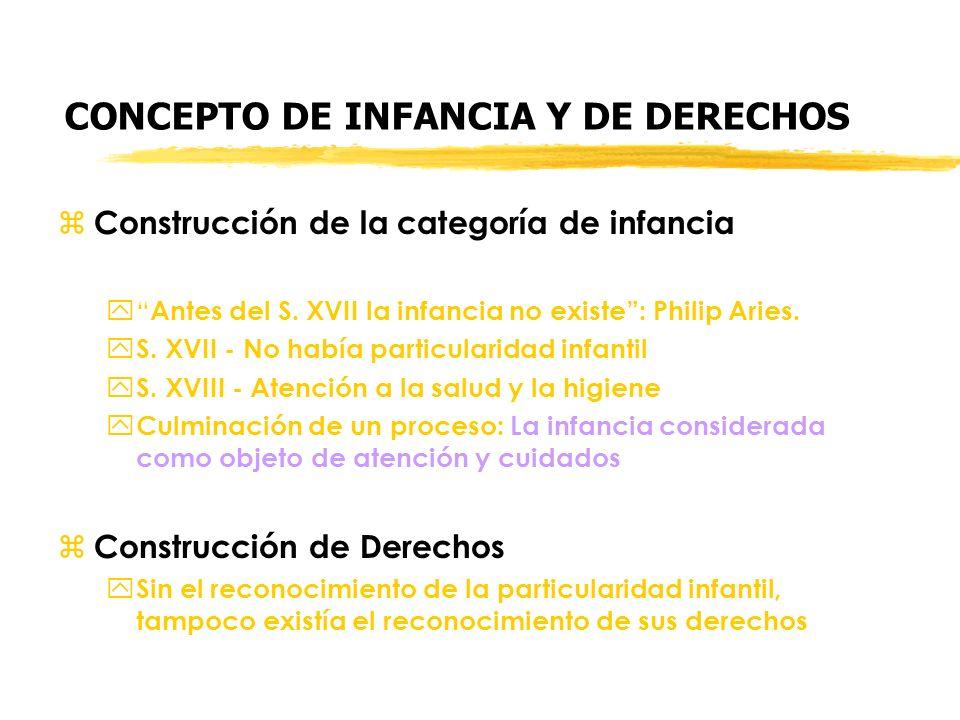 CONCEPTO DE INFANCIA Y DE DERECHOS