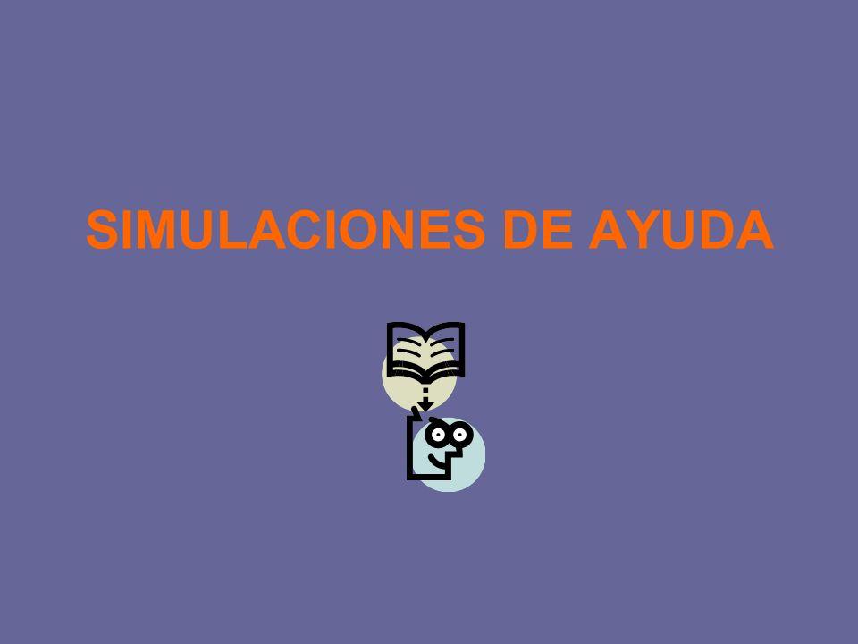 SIMULACIONES DE AYUDA