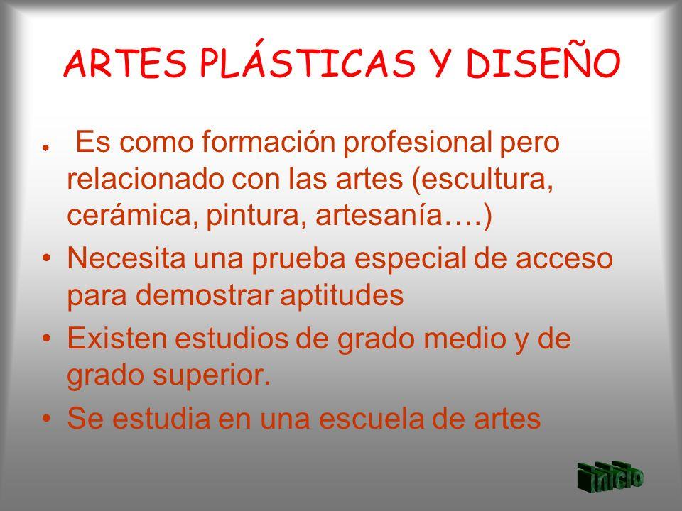 ARTES PLÁSTICAS Y DISEÑO
