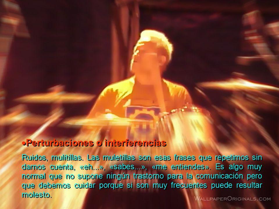 Perturbaciones o interferencias
