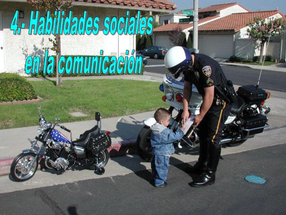 4.- Habilidades sociales