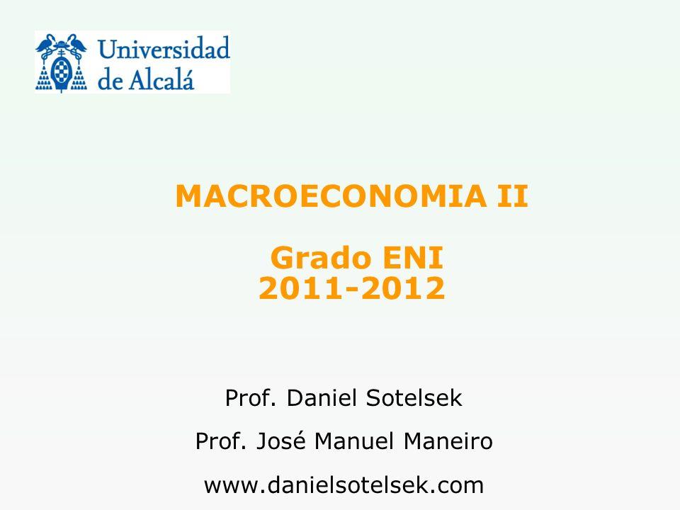 MACROECONOMIA II Grado ENI 2011-2012