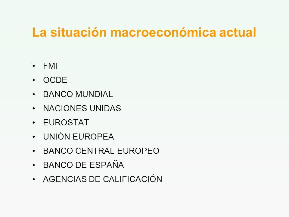 La situación macroeconómica actual