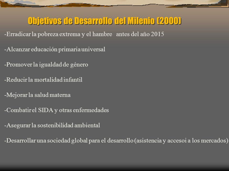 Objetivos de Desarrollo del Milenio (2000)