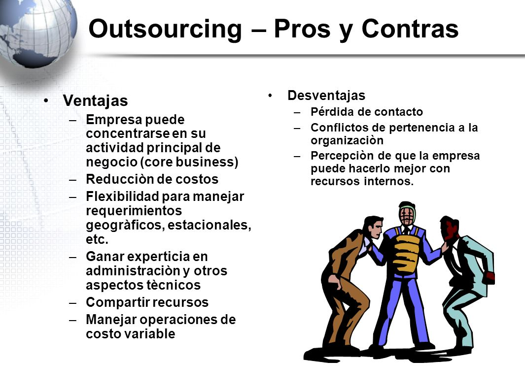 Outsourcing – Pros y Contras