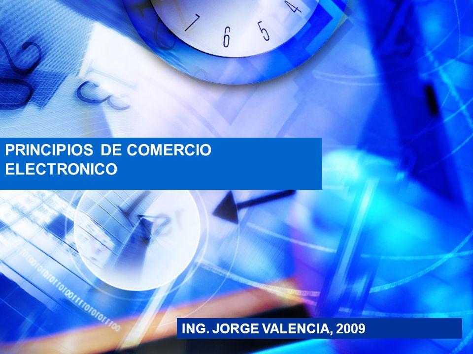 PRINCIPIOS DE COMERCIO ELECTRONICO
