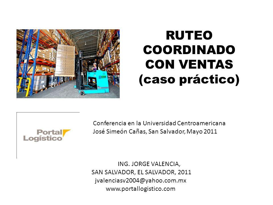 RUTEO COORDINADO CON VENTAS