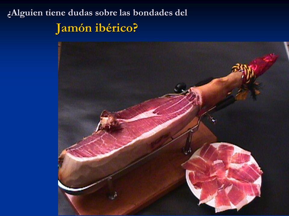 ¿Alguien tiene dudas sobre las bondades del Jamón ibérico