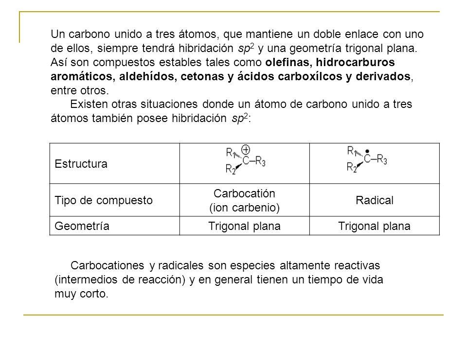 Carbocatión (ion carbenio)