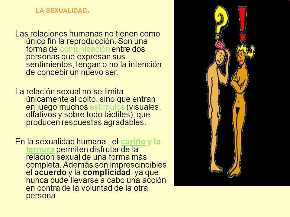 LA SEXUALIDAD.
