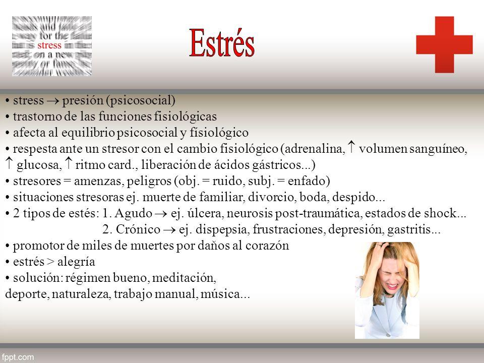 Estrés stress  presión (psicosocial)