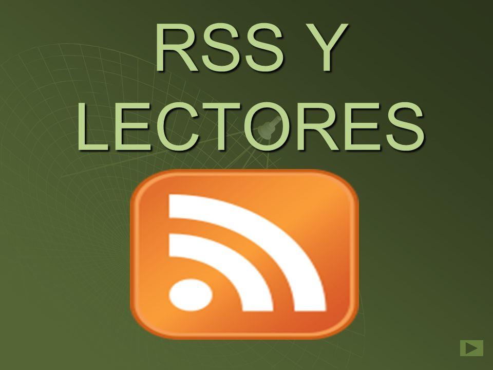 RSS Y LECTORES