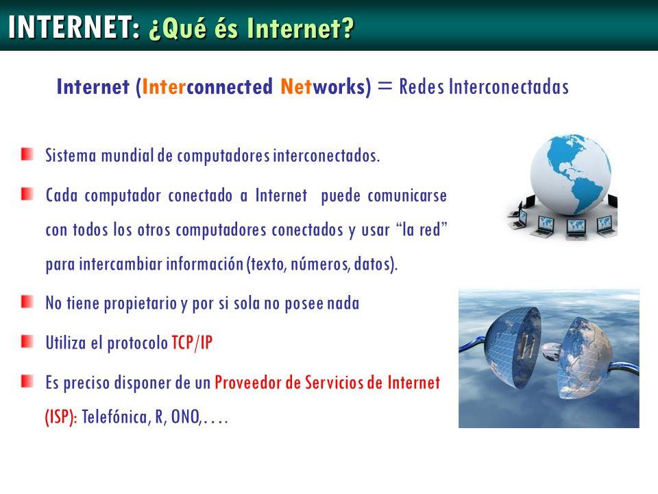 INTERNET: ¿Qué és Internet