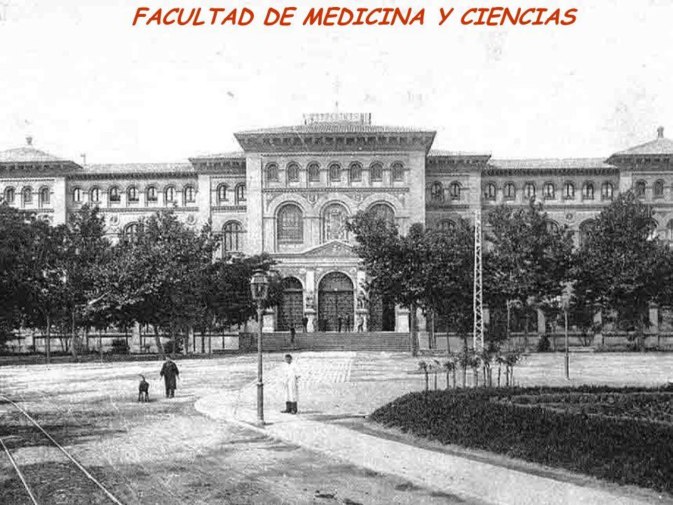 FACULTAD DE MEDICINA Y CIENCIAS