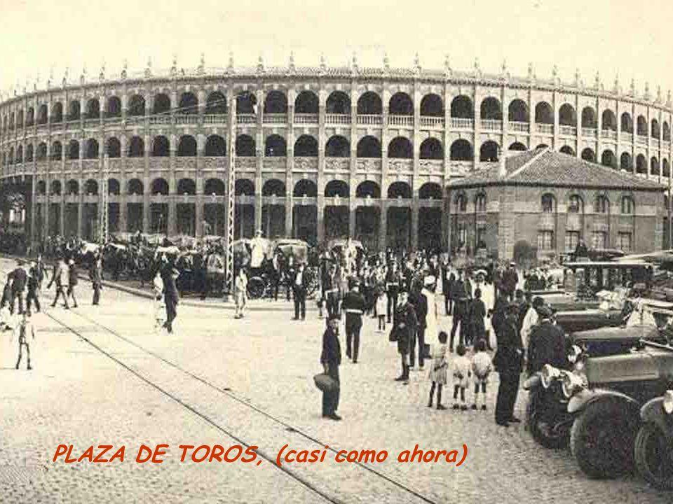 PLAZA DE TOROS, (casi como ahora)