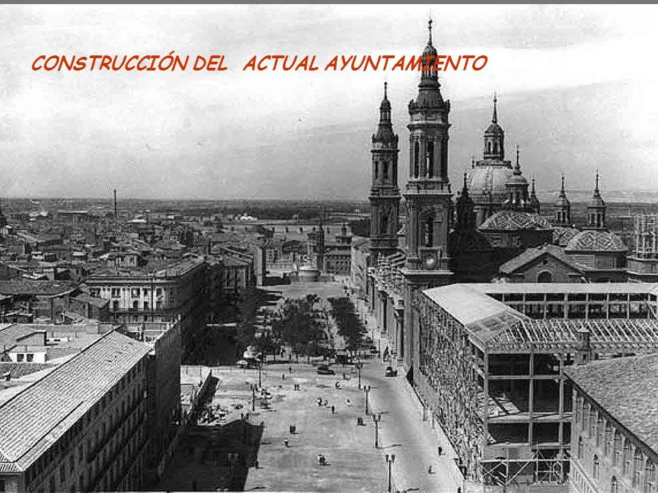 CONSTRUCCIÓN DEL ACTUAL AYUNTAMIENTO
