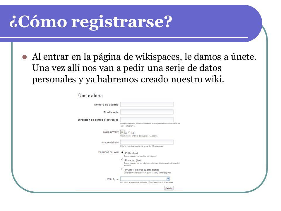 ¿Cómo registrarse