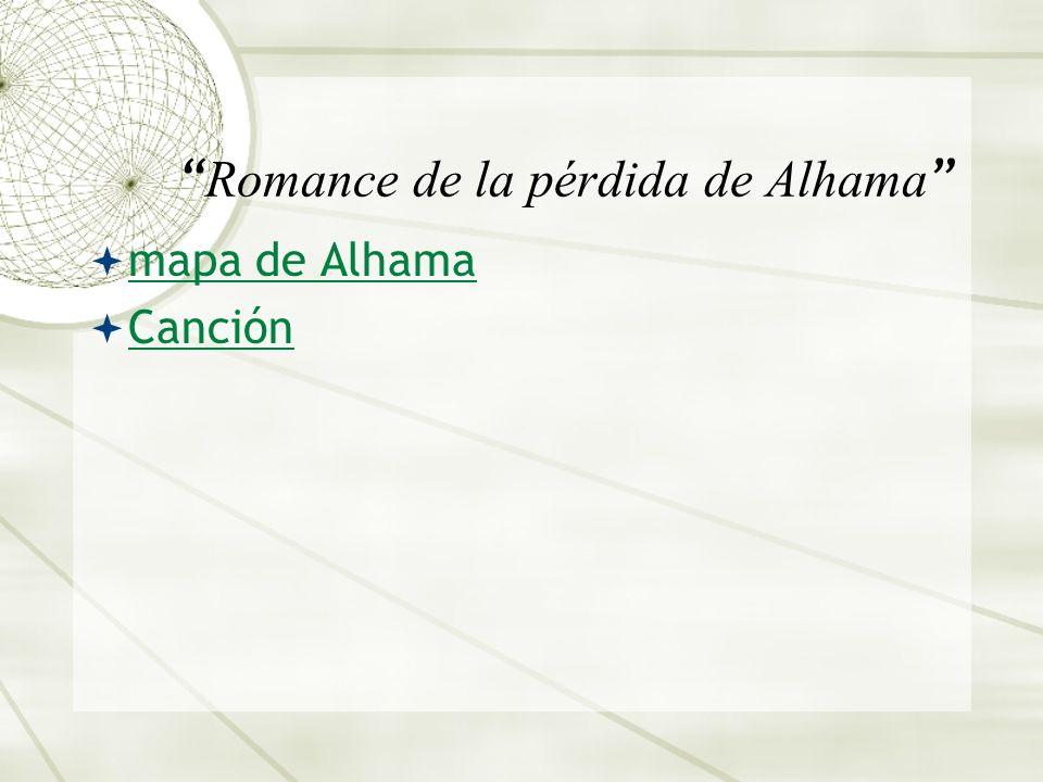 Romance de la pérdida de Alhama