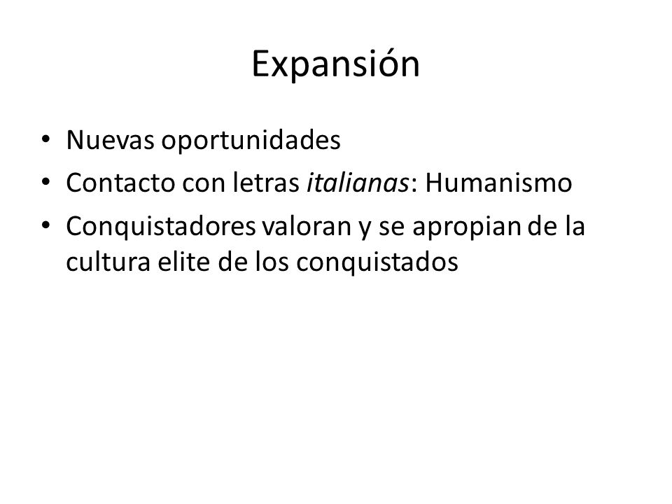Expansión Nuevas oportunidades