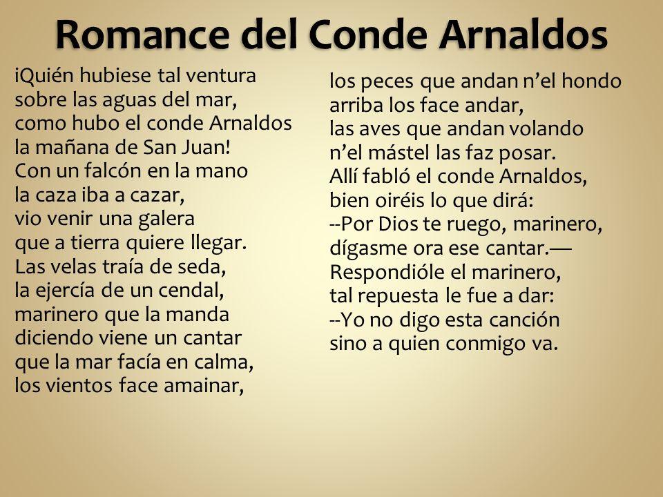 Romance del Conde Arnaldos