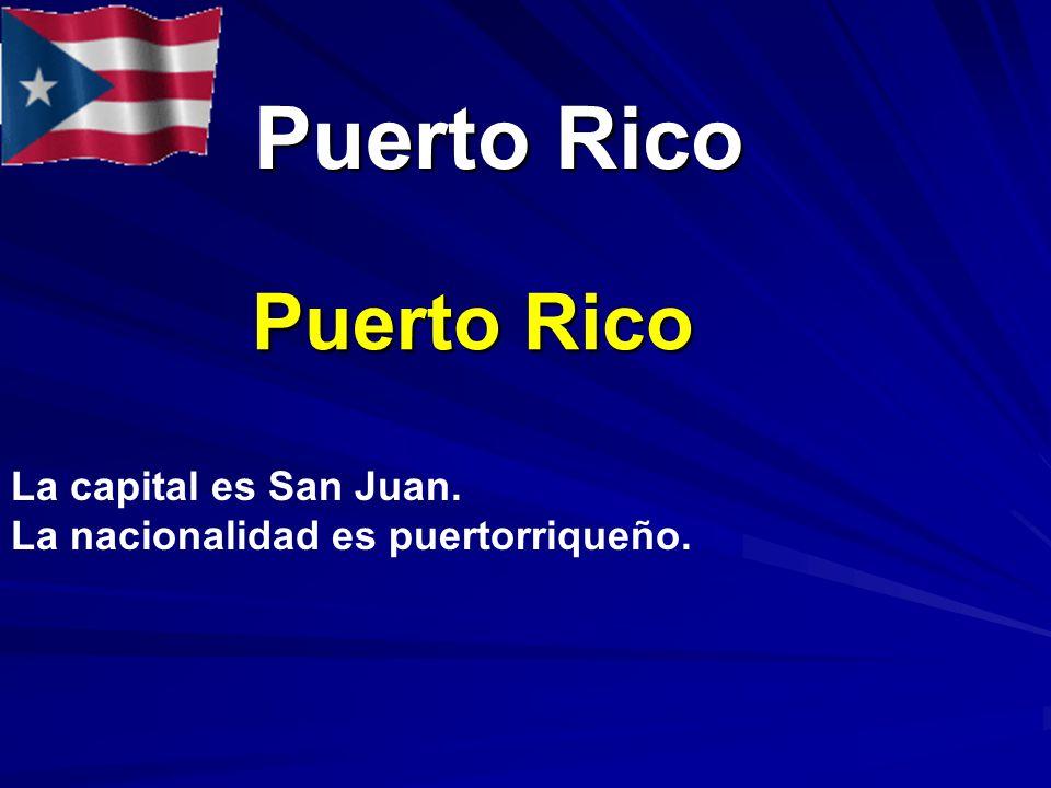 El vocabulario de para empezar c mo eres t qu haces ppt descargar - Nacionalidad de puerto rico en ingles ...
