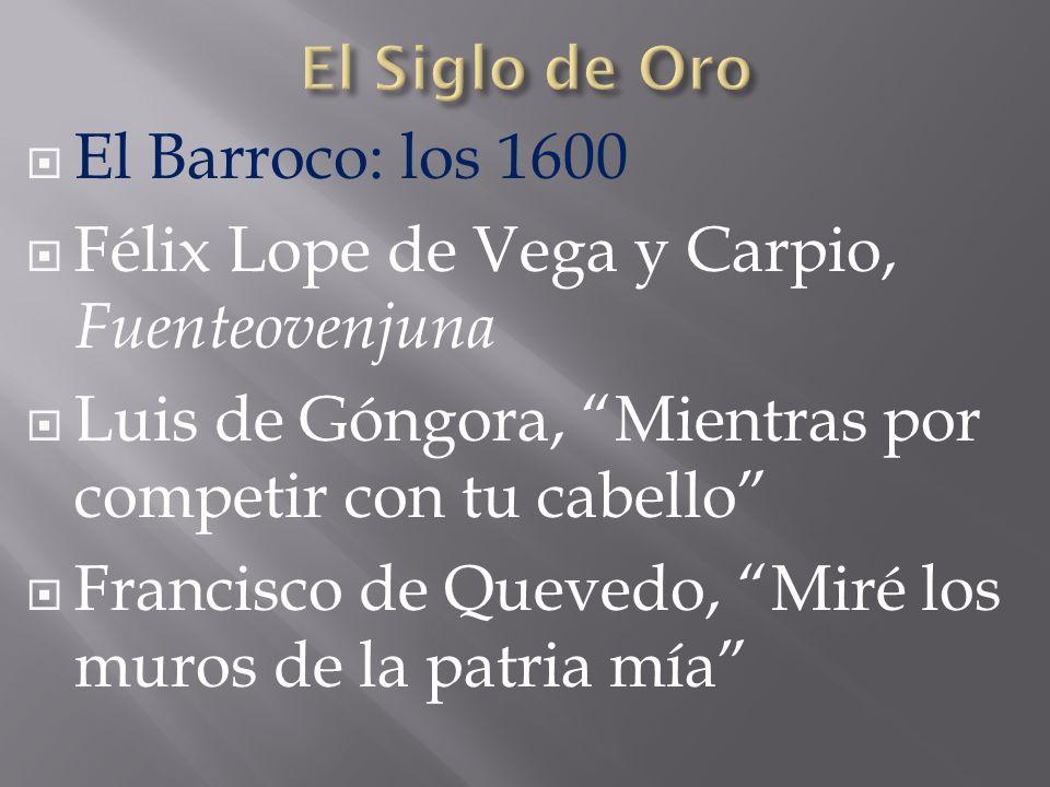 Félix Lope de Vega y Carpio, Fuenteovenjuna