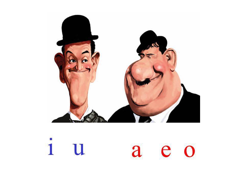 i u a e o