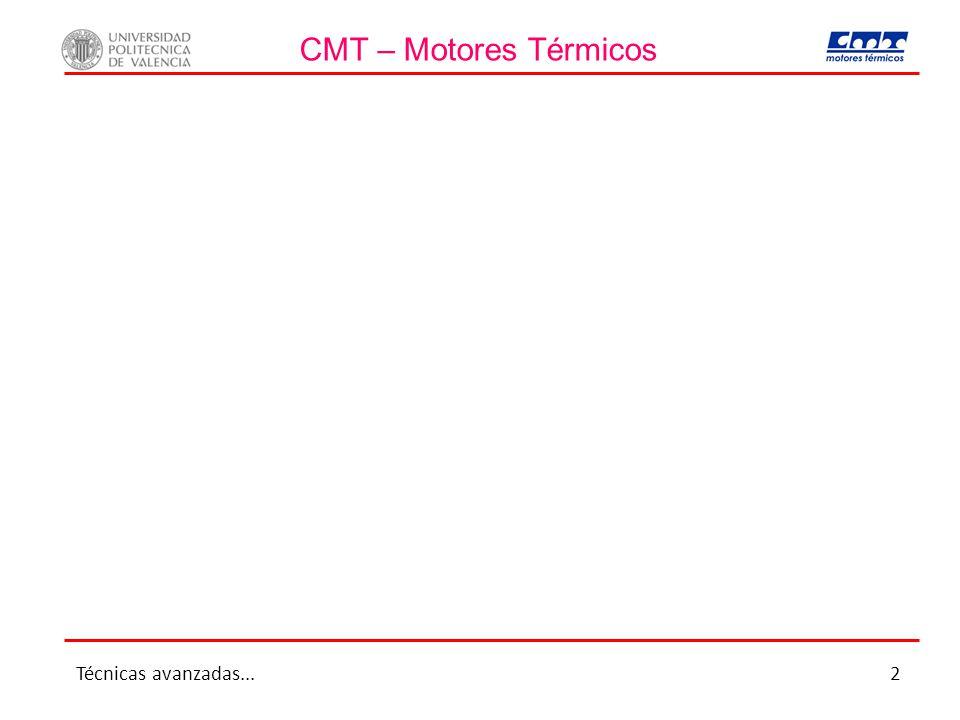 CMT – Motores Térmicos Técnicas avanzadas... 2
