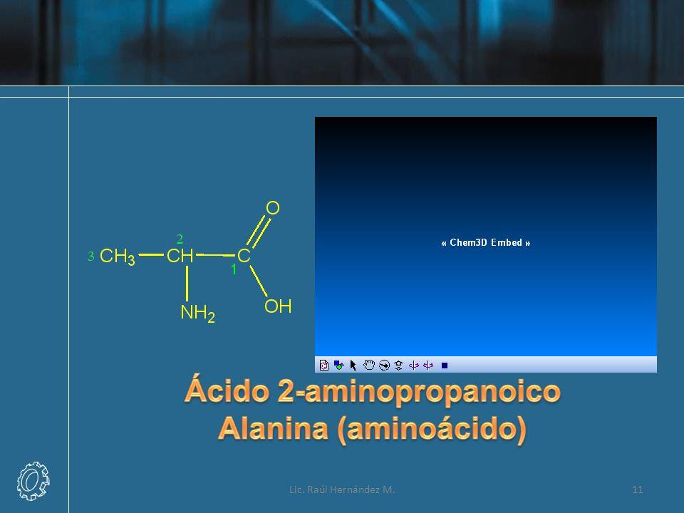 Ácido 2-aminopropanoico