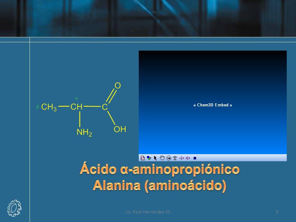 Ácido α-aminopropiónico