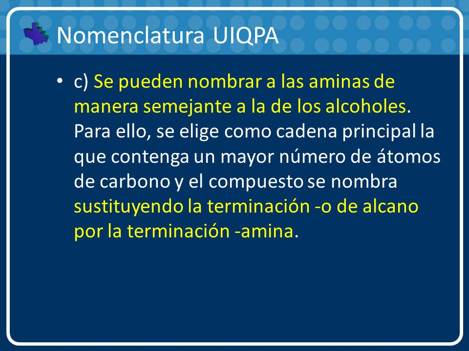 Nomenclatura UIQPA