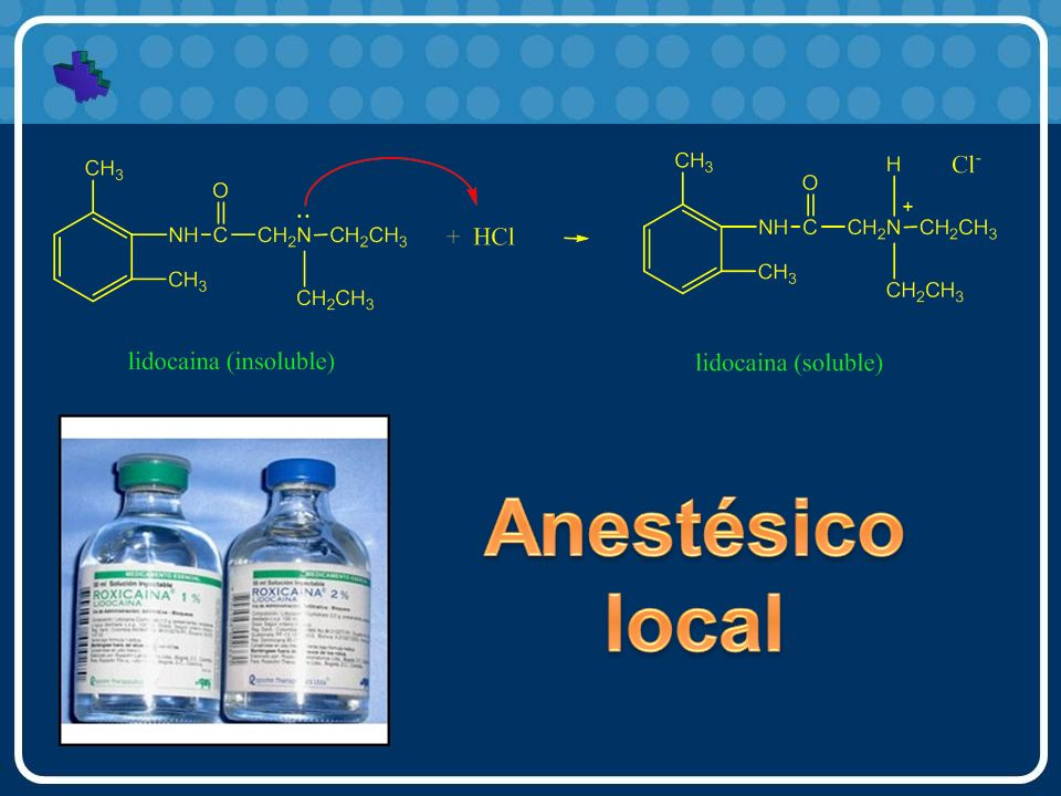 Anestésico local