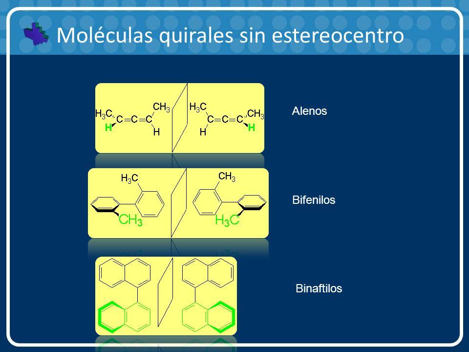 Moléculas quirales sin estereocentro