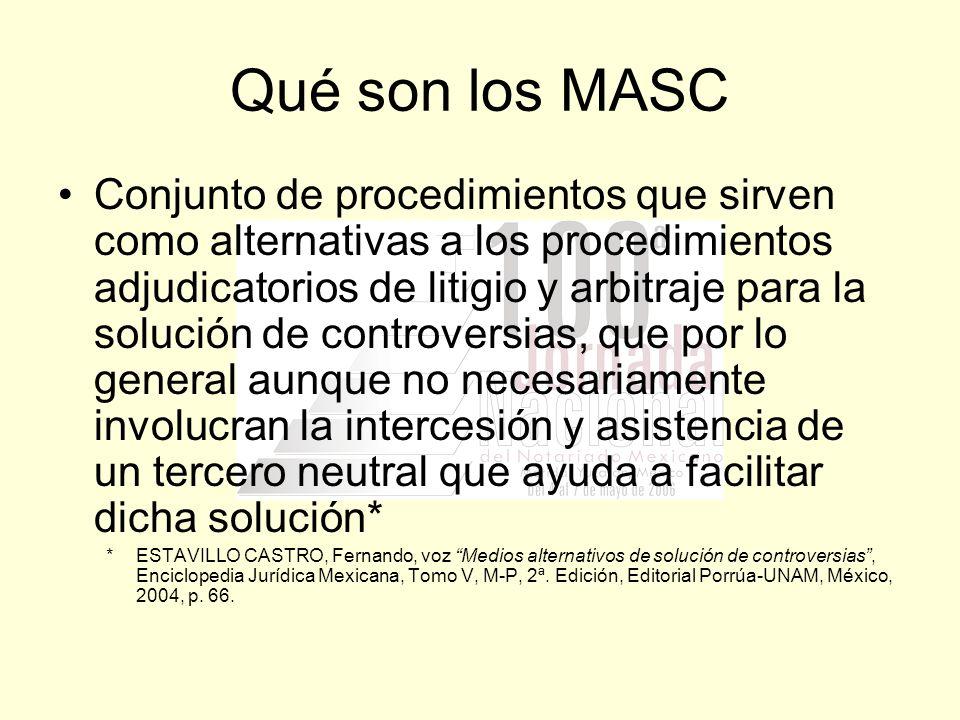 Qué son los MASC