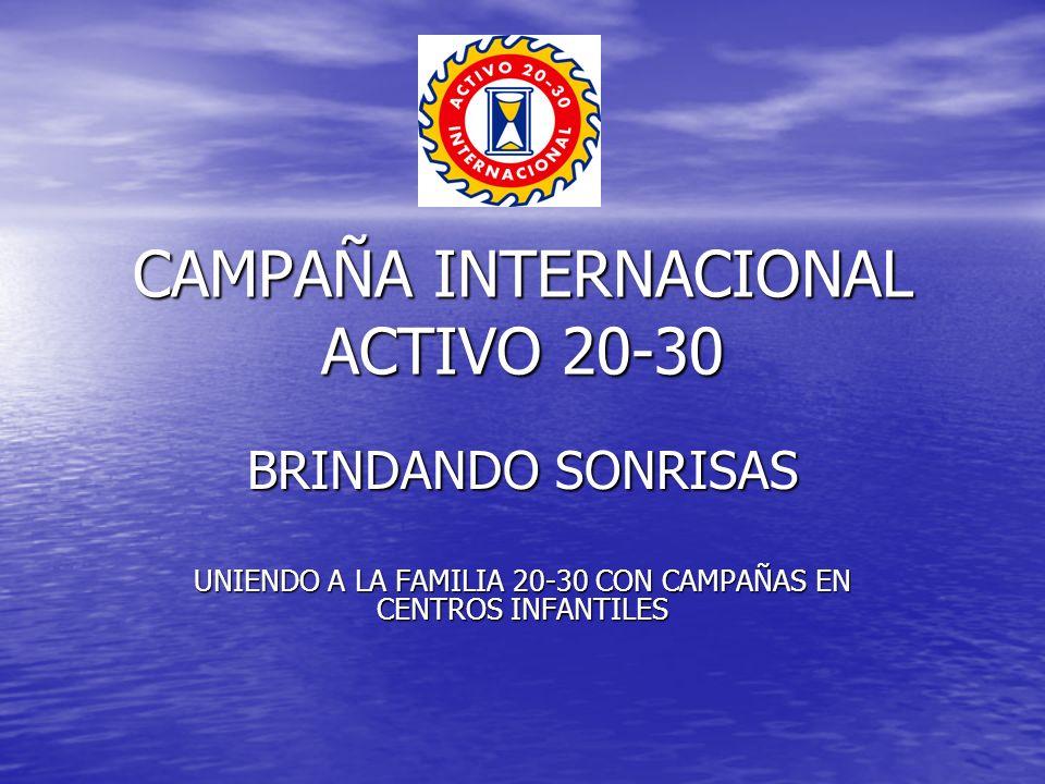 CAMPAÑA INTERNACIONAL ACTIVO 20-30