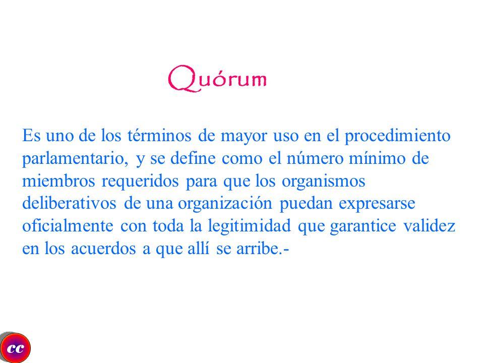 Quórum