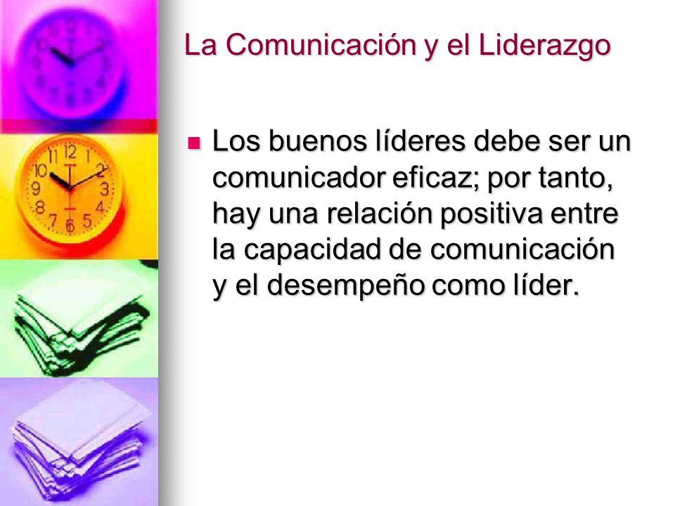 La Comunicación y el Liderazgo