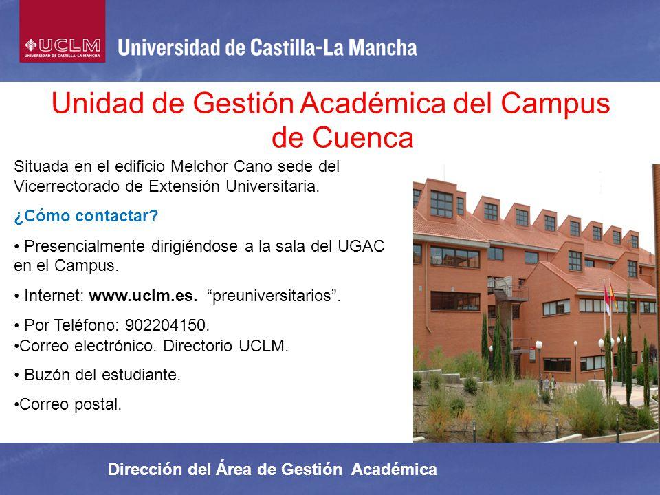 Unidad de Gestión Académica del Campus de Cuenca